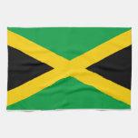 Bandera de Jamaica Toallas De Cocina