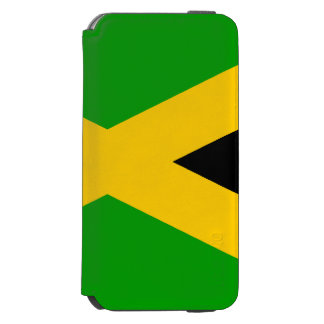 Bandera de Jamaica Funda Cartera Para iPhone 6 Watson