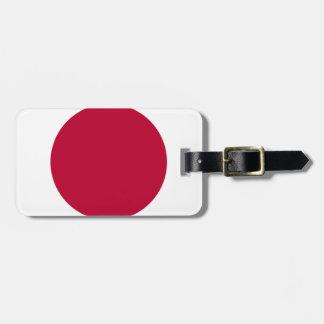 Bandera de Japón - 日章旗 - 日の丸 - 日本の国旗 Etiquetas Para Maletas
