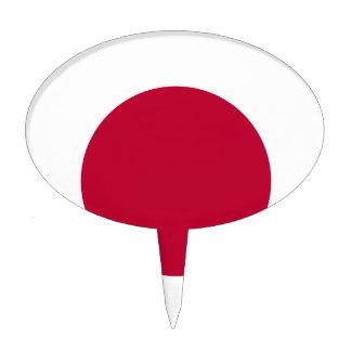 Bandera de Japón - 日章旗 - 日の丸 - 日本の国旗 Figuras Para Tartas