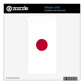 Bandera de Japón - 日章旗 - 日の丸 - 日本の国旗 iPhone 4S Skins