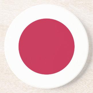 Bandera de Japón - 日章旗 - 日の丸 - 日本の国旗 Posavasos Diseño