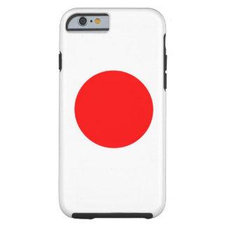 Bandera de Japón Funda Para iPhone 6 Tough