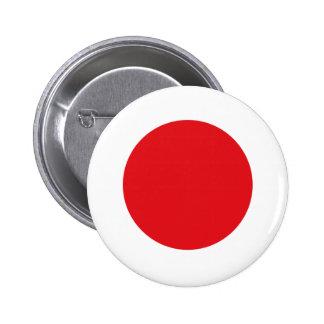 Bandera de Japón Pin Redondo De 2 Pulgadas