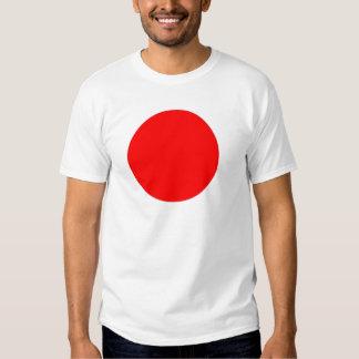 Bandera de Japón Playera