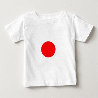 Bandera de Japón Playera Para Bebé