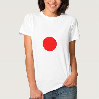 Bandera de Japón Remeras