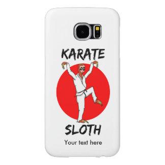 Bandera de Japón Soth que hace karate Fundas Samsung Galaxy S6