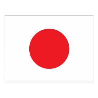 Bandera de Japón Postal