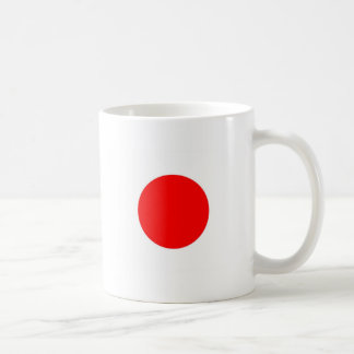 Bandera de Japón Taza