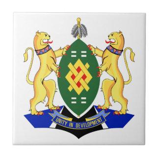 Bandera de Johannesburg Azulejo Cuadrado Pequeño