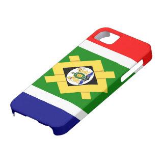 Bandera de Johannesburg iPhone 5 Funda