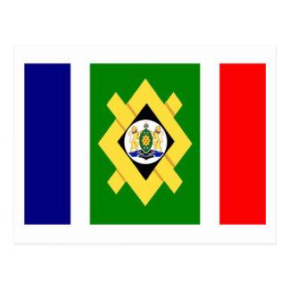 Bandera de Johannesburg Postales