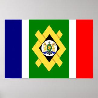 Bandera de Johannesburg Póster