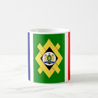 Bandera de Johannesburg Taza Clásica