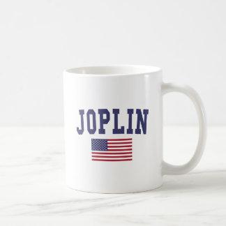 Bandera de Joplin los E.E.U.U. Taza