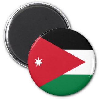 Bandera de Jordania Imán Redondo 5 Cm