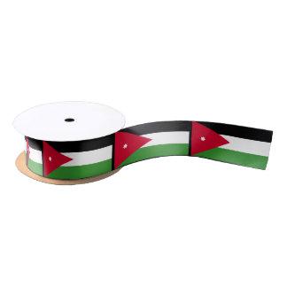 Bandera de Jordania Lazo De Raso