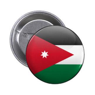 Bandera de Jordania Pin Redondo 5 Cm