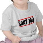 Bandera de José Kony de la parada de Kony 2012 Camiseta