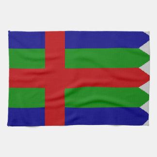 Bandera de Jutlandia (Dinamarca) Toalla De Mano