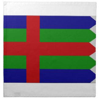 Bandera de Jutlandia (Dinamarca) Servilletas