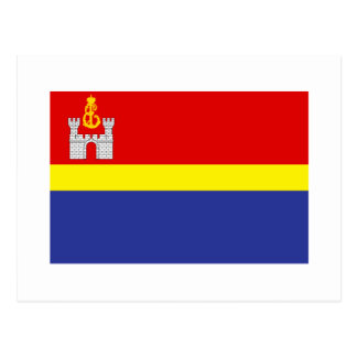 Bandera de Kaliningrado Oblast Tarjeta Postal