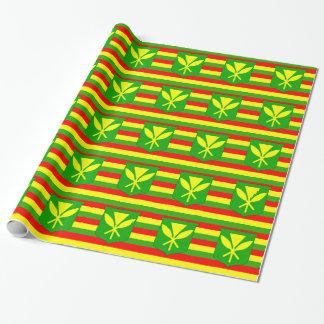 Bandera de Kanaka Maoli Papel De Regalo
