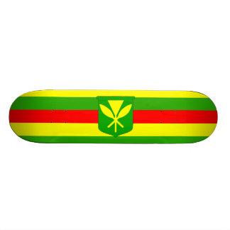 Bandera de Kanaka Maoli Tablas De Skate