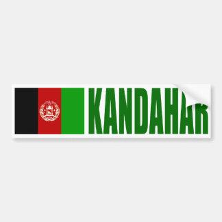 Bandera de Kandahar, Afganistán Pegatina Para Auto