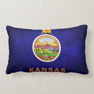 Bandera de Kansas Cojin