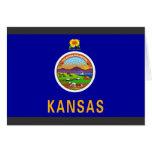 Bandera de Kansas Felicitaciones