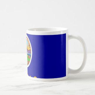 Bandera de Kansas Tazas De Café
