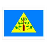 Bandera de Kayangel Tarjetas Postales