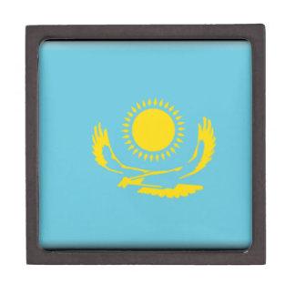 Bandera de Kazajistán Cajas De Recuerdo De Calidad