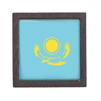 Bandera de Kazajistán Caja De Recuerdo De Calidad