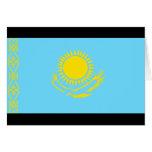Bandera de Kazajistán Felicitacion