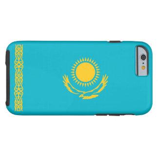 Bandera de Kazajistán Funda Para iPhone 6 Tough