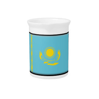 Bandera de Kazajistán Jarrón