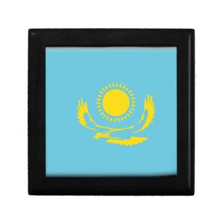 Bandera de Kazajistán Caja De Recuerdo