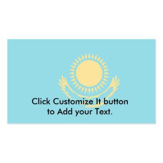 Bandera de Kazajistán, Kazajistán Plantillas De Tarjeta De Negocio