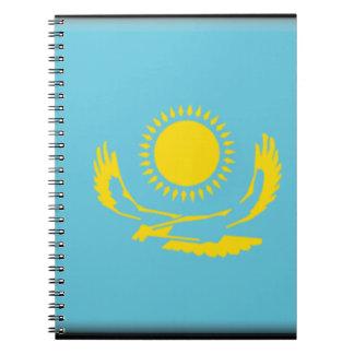 Bandera de Kazajistán Cuadernos