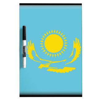 Bandera de Kazajistán Pizarras Blancas De Calidad