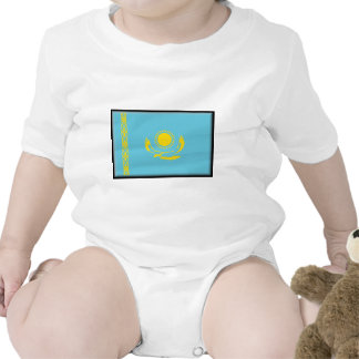 Bandera de Kazajistán Traje De Bebé