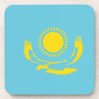 Bandera de Kazajistán Posavasos De Bebidas
