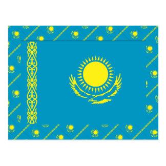 Bandera de Kazajistán Postales