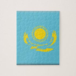 Bandera de Kazajistán Rompecabeza Con Fotos