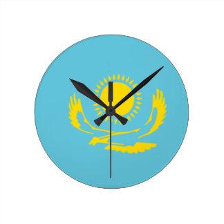Bandera de Kazajistán Reloj De Pared