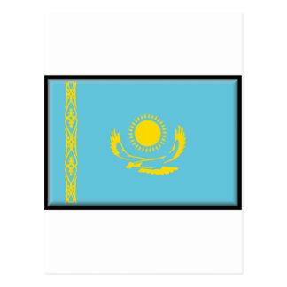 Bandera de Kazajistán Postal