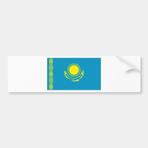Bandera de Kazakstan Pegatina Para Auto